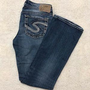 Silver Jean AIKO bootcut women size 27